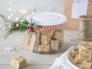 Vanilla pecan butter fudge