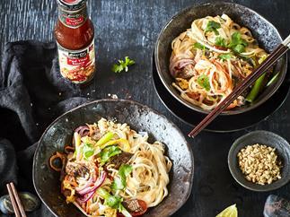Satay beef Pad Thai