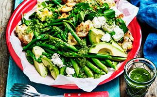 Very green salad