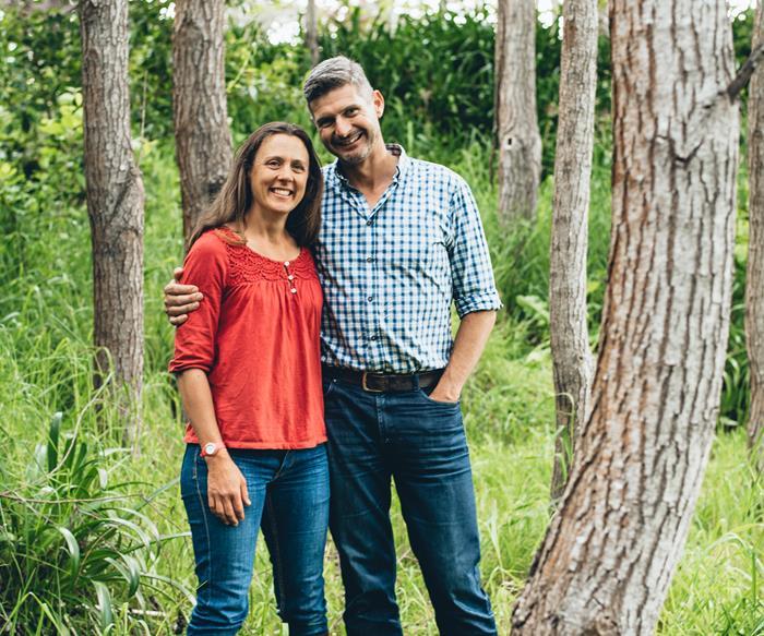 Ben Warren and wife Lynda Warren
