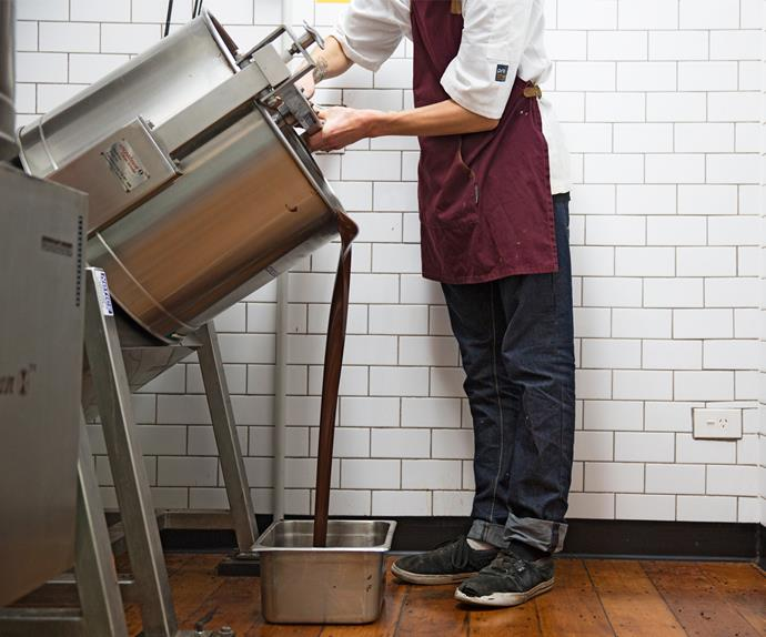 "The head maker at [Wellington Chocolate Factory](https://www.wcf.co.nz/|target=""_blank""