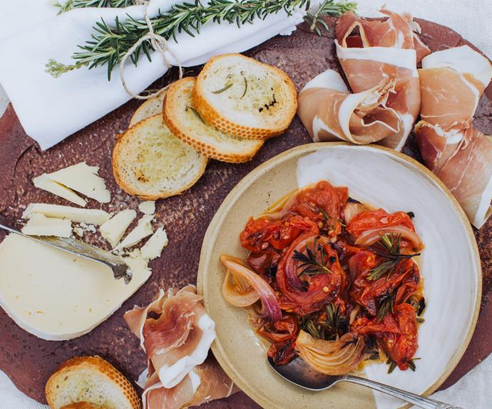 Easy tomato relish.