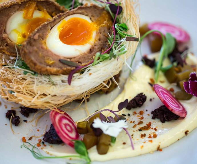 Henry & Ted's impressive 'Bird Nest' dish is just as delicious as it is creative.