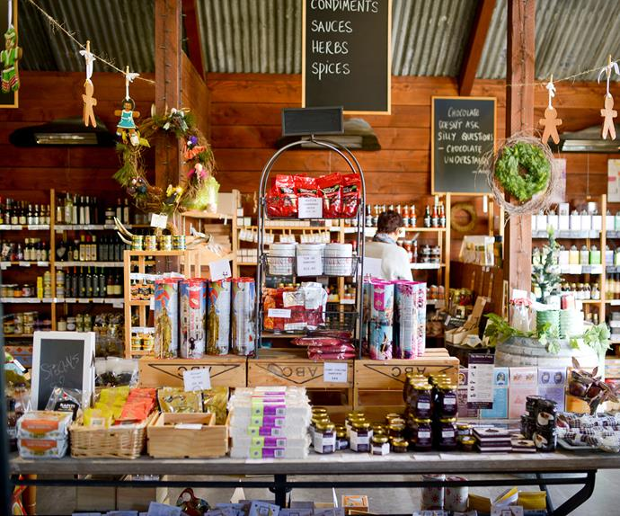 Florence's Foodstore is filled with artisan local and imported goods.