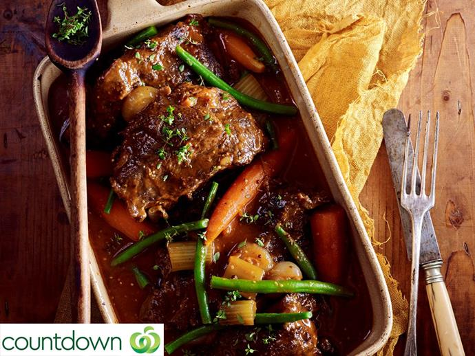 "[Beer and thyme beef cheeks](https://www.foodtolove.co.nz/recipes/beer-and-thyme-beef-cheeks-31207|target=""_blank"")"