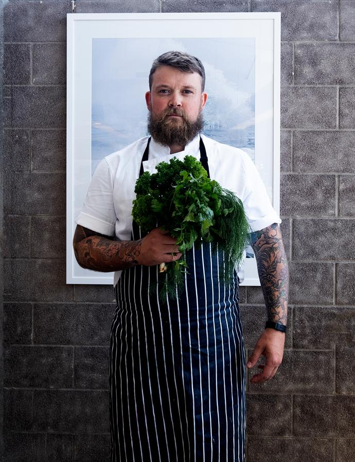 Exec Chef and Sustainability Coordinator, Joe O'Connell.