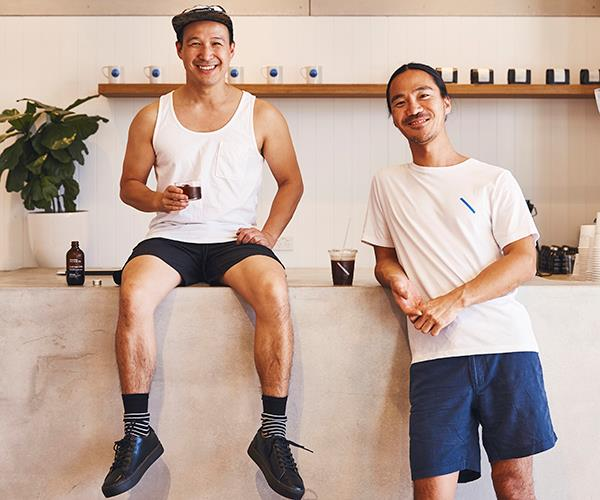 Dan Yee (left) and Shoji Sasa, co-owners of Artificer Specialty Coffee Bar & Roastery, Sydney.