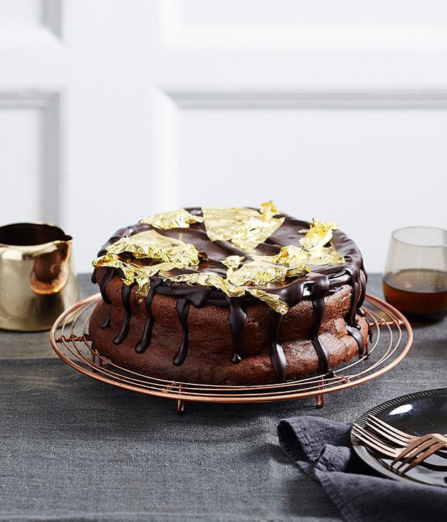 """[**Rich chocolate mousse cake**](https://www.gourmettraveller.com.au/recipes/browse-all/rich-chocolate-mousse-cake-14003