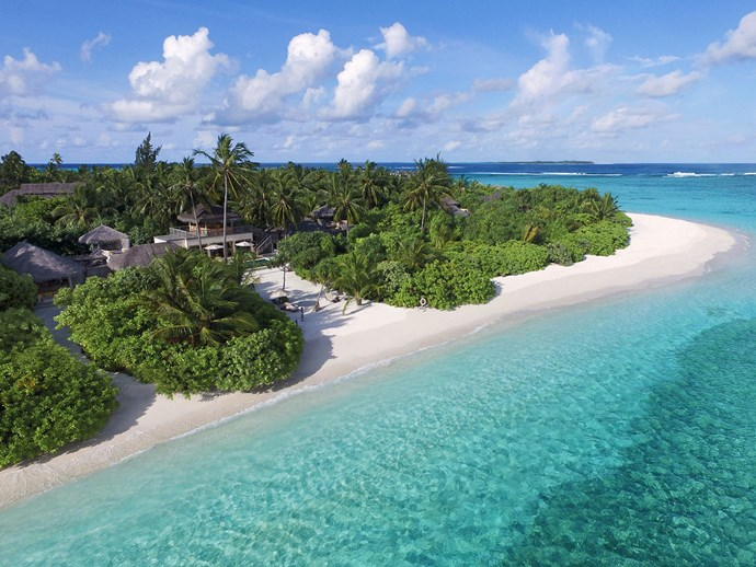 Two bedroom Ocean Beach Villa at Six Senses Laamu Resort