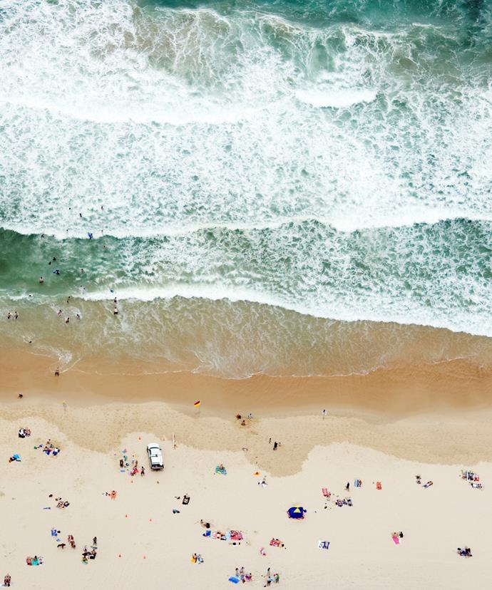 *Surfers Paradise Beach from above*