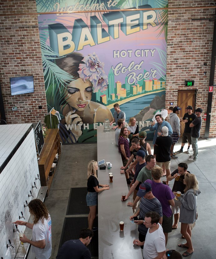 *Mick Fanning's Balter Brewing Company*