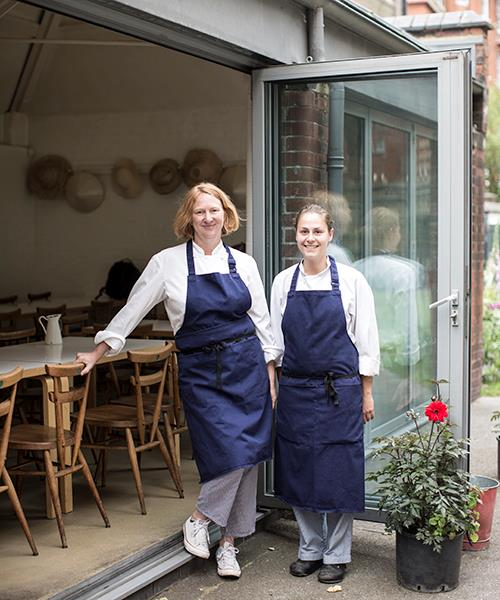 *Margot Henderson and Anna Tobias of Rochelle Canteen.*