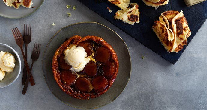 An Australian take on tarte Tatin