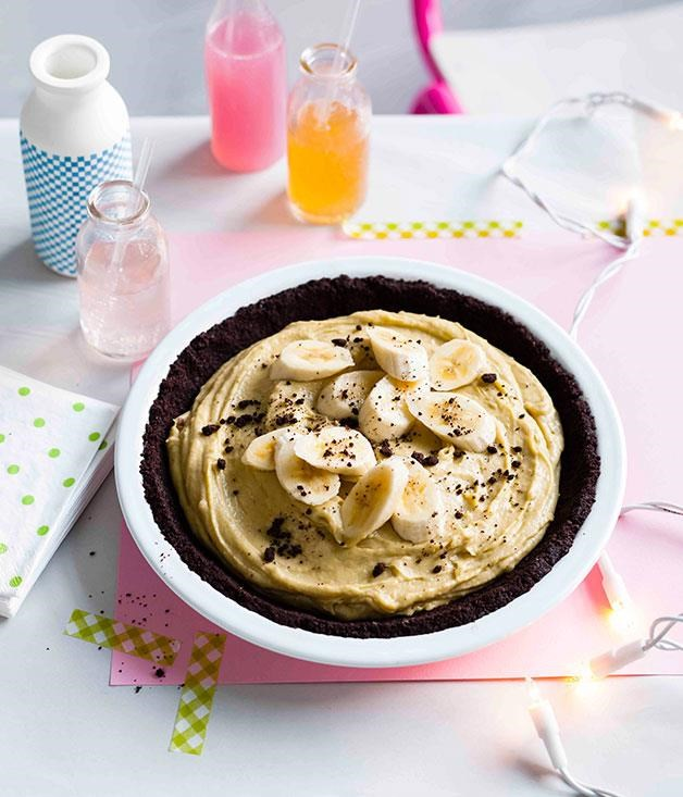 "**[Banana cream pie](https://www.gourmettraveller.com.au/recipes/browse-all/banana-cream-pie-11229|target=""_blank"")** <br><br> The secret to the success of this pie is using super ripe bananas - they give a much deeper flavour. Between the thick chocolate crust and gooey centre, this pie is a deliciously messy dessert, one that's best tackled in the company of loved ones."