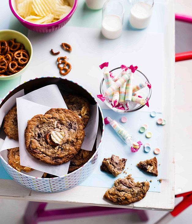 "[**Compost Cookies**](https://www.gourmettraveller.com.au/recipes/browse-all/compost-cookies-11199|target=""_blank"") <br><br> The name might not give you high hopes, but these cookies are a tasty mix of Tosi's favourite snacks – pretzels, chocolate chips, Graham crackers and potato chips – baked into one convenient package. Like many of her desserts, there's plenty going on in terms of texture, as well as a savoury counterpoint to all that sugar. Overlook the Compost Cookie at your own peril."