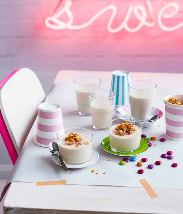 "[**Cereal Milk panna cotta**](https://www.gourmettraveller.com.au/recipes/browse-all/cereal-milk-panna-cotta-11198|target=""_blank"") <br><br> The Momofuku empire's most famous creation after its [pork buns](https://www.gourmettraveller.com.au/recipes/chefs-recipes/momofukus-pork-buns-7594