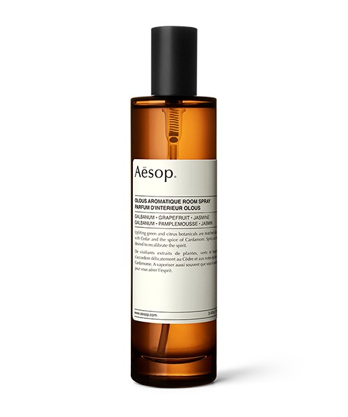 """**Aesop Olous Room Spray**   This vibrant room spray from Aesop will lift mum's spirits as soon as she enters the room.  The Mediterranean-inspired scent, with its notes of grapefruit and bergamot, will remind her of her last Greek island holiday, and who wouldn't want to remember that? $60, [Aesop.com](https://www.aesop.com/au