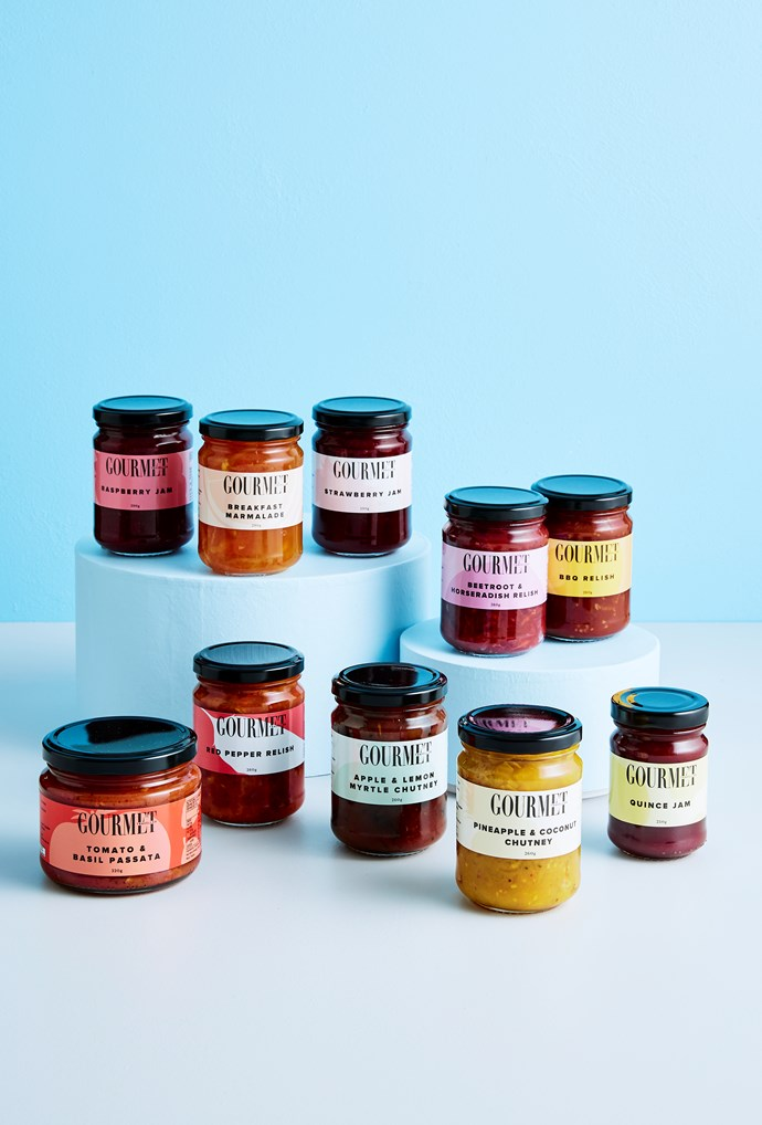 """**Gourmet Traveller jams, relishes and chutneys** Whether it's a spoonful of quince jam on a cheese plate or a slick of spicy beetroot relish on a burger, any jar from Gourmet Traveller's condiment range is something mum will love having in her fridge door. From $9, [cunliffeandwaters.com.au](https://cunliffeandwaters.com.au/products/gourmet+traveller