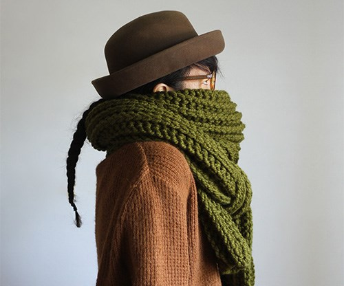 """**Yokoo Gibraan Soopa Scarf**   With more than two metres of wool, this scarf is perfect for snuggling up in. Wrap it, layer it or use it as a pillow on flights. It's a winter essential. $350, [sorrythanksiloveyou.com](http://sorrythanksiloveyou.com/fashion-and-accessories/scarves-and-hats/green-soopa-scarf