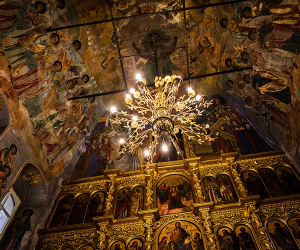 Ceiling of the Church of Saint Dimitry on the Blood, Uglich