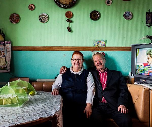 Tamara and her husband Nikolai