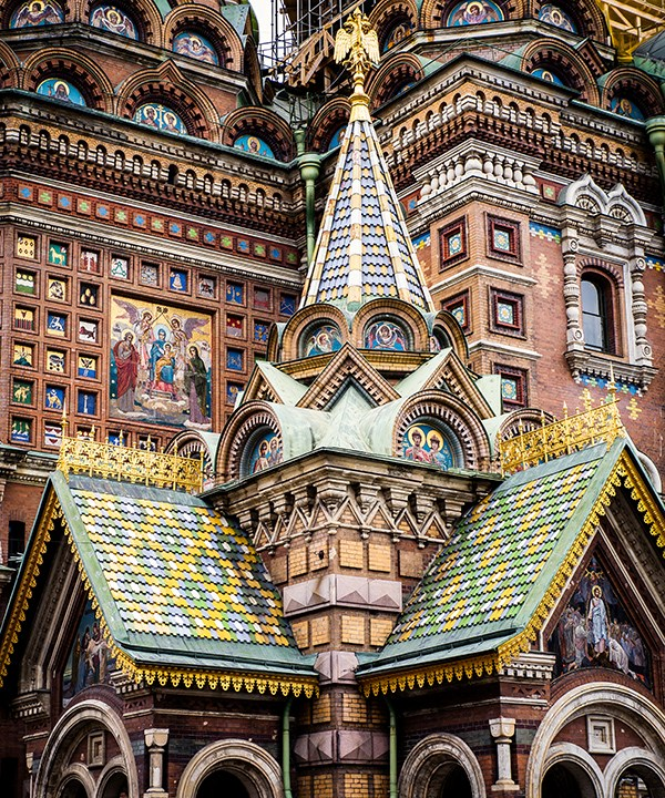 Church of the Saviour on Spilled Blood, Saint Petersburg