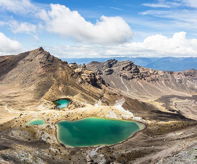 Emerald Lakes, New Zealand.