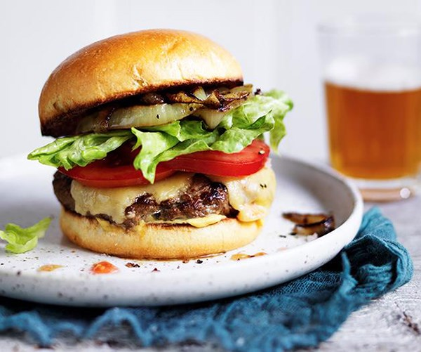 "[Classic cheeseburgers](https://www.gourmettraveller.com.au/recipes/browse-all/classic-cheeseburger-12692|target=""_blank"")"