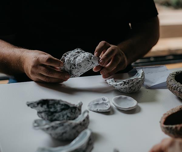 Studio Jam's ceramic shells