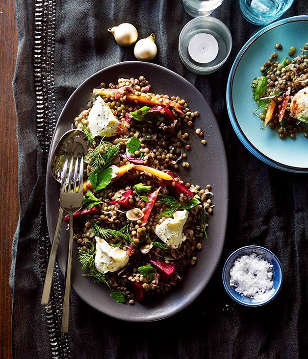 """[Pickled beetroot and heirloom carrot salad](https://www.gourmettraveller.com.au/recipes/chefs-recipes/pickled-beetroot-and-heirloom-carrot-salad-9006