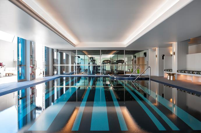 Pack your swimsuit to experience the indoor pool