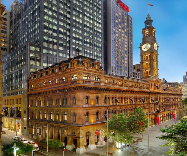 The Westin sits in the heritage-listed former GPO building