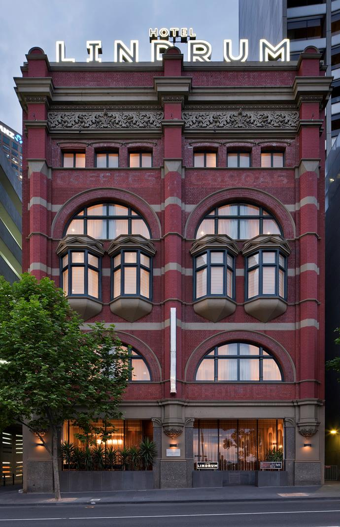 Hotel Lindrum is located in the heart of the CBD.