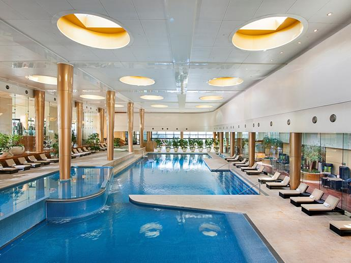 At 25 metres, the indoor pool is one of the largest in the country.