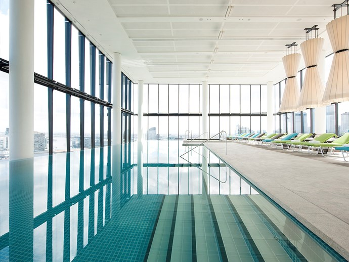 "[Crown Metropol's](http://www.gourmettraveller.com.au/travel/travel-news/melbournes-crown-metropol-4673|target=""_blank"") Pool & Fitness Centre."