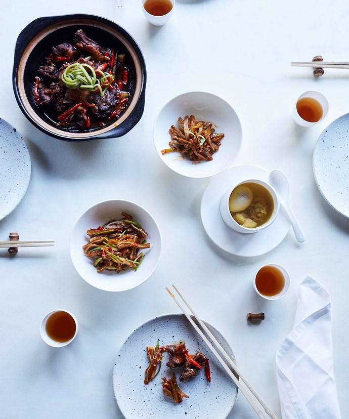Sample Jiangxi fare at Lazhu, the signature restaurant