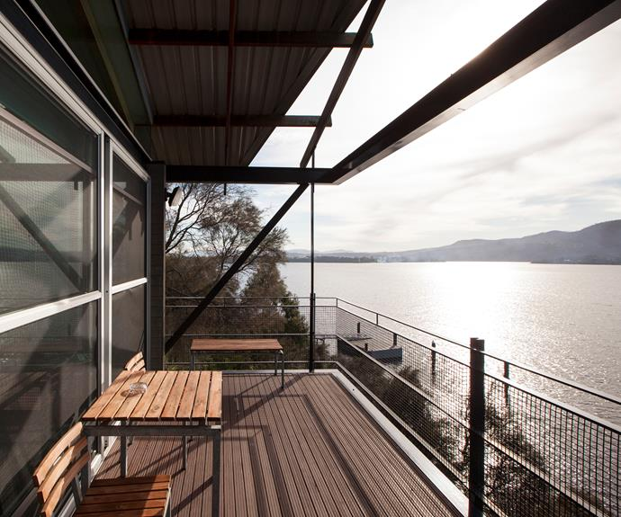 Views of the Derwent River from the Arthur Pavilion