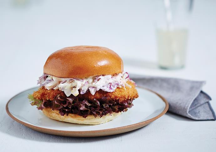 Mr Schnitz burger from Chicken Confidential.