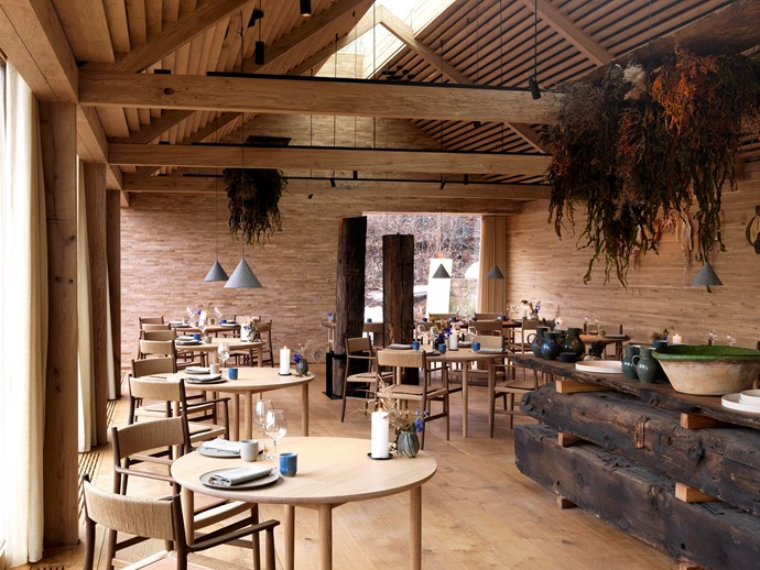 Noma's dining room during seafood season (photography by Jason Loucas)