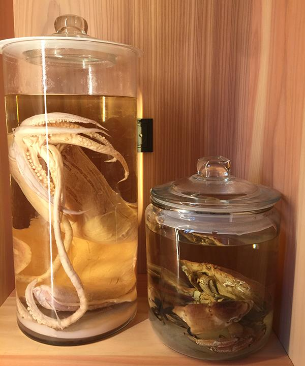 Preserved seafood