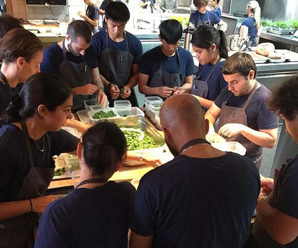 The Noma kitchen