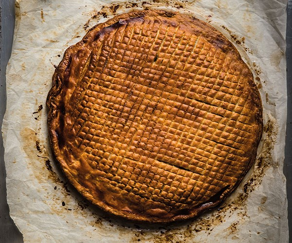 Nadine Ingram's fig and walnut galette