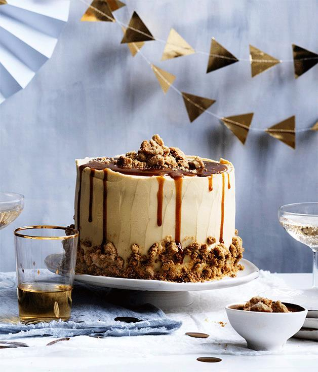 "[Salted caramel layer cake](https://www.gourmettraveller.com.au/recipes/browse-all/salted-caramel-layer-cake-12599|target=""_blank"")"