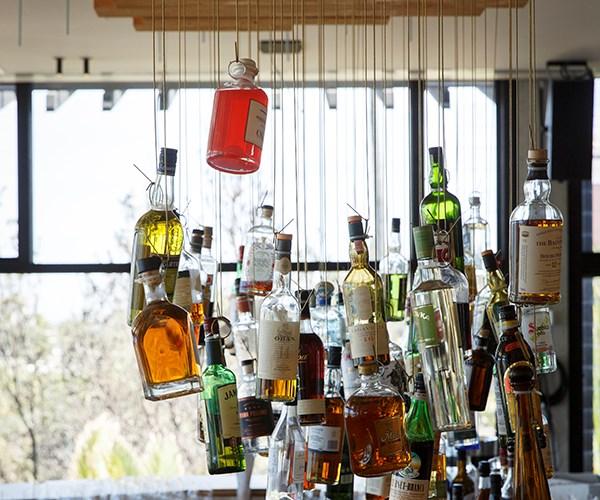 The bar at Stokehouse
