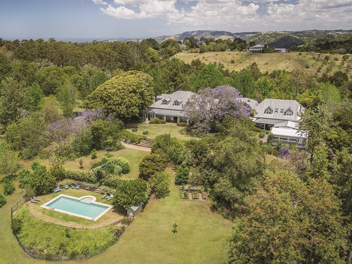 """The estate is located in the Sunshine Coast hinterland, a 90-minute drive from Brisbane and [an hour from Noosa](http://www.gourmettraveller.com.au/travel/destinations/where-to-eat-and-drink-in-noosa-16043