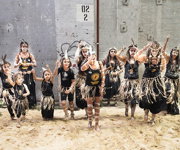 A defining Rootstock moment, when the connection was made with indigenous agriculture and the Djaadjawan Dancers came to Carriageworks.