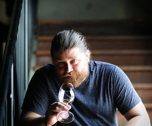 John Wurdeman of Pheasant's Tears, who brought Georgia to Rootstock. An extraordinary connection made.