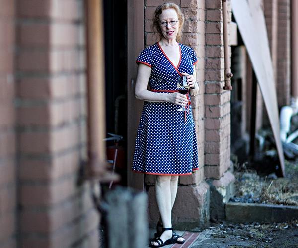 Wine writer Alice Feiring.