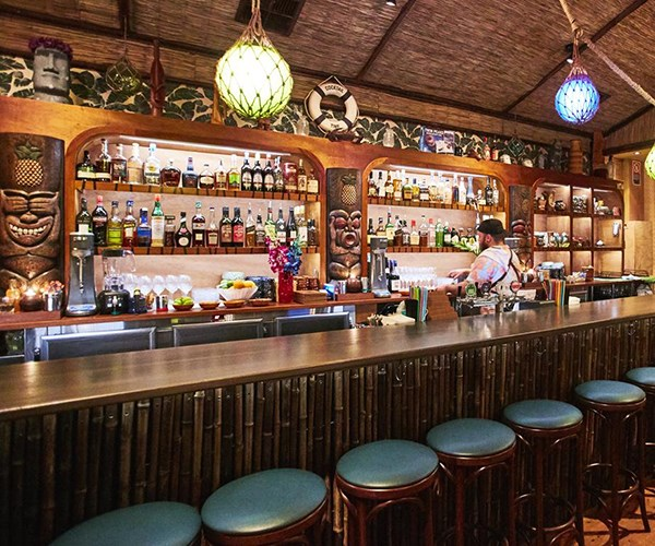 "**BAR OF THE YEAR FINALIST: [JACOBY'S](https://www.gourmettraveller.com.au/news/drinks-news/jacobys-opens-in-enmore-6458|target=""_blank"")** <br><br> We may yet see more operators in Australia jumping on the dark-tiki bandwagon, naming their bars for the Hawaiian-shirted psychiatrist from *Twin Peaks*, and tiling parts of their floor in a zigzag homage to the show's Black Lodge. But for now, this radical Sydney watering hole from Pasan Wijesena of Earl's Juke Joint has the niche all to itself. If that all sounds a bit spooky and intense: relax. The bar might be dimly lit, but quite a few of the drinks arrive in fire and the mood is perfectly upbeat. Never mind if you don't know your David Lynch from your Don the Beachcomber: there's no mistaking the good times on offer at Jacoby's. <br><br> **In short: A loopy concept brought to life with impressive care.** <br><br> *154 Enmore Rd, Enmore, NSW, [jacobys-tiki-bar.com](http://www.jacobys-tiki-bar.com/