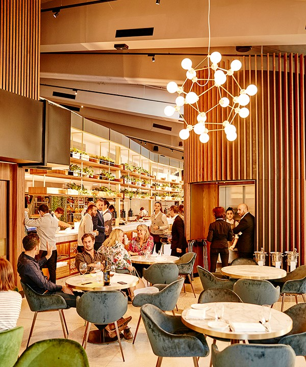 "**NEW RESTAURANT OF THE YEAR FINALIST: [ROSETTA](https://www.gourmettraveller.com.au/dining-out/restaurant-reviews/rosetta-sydney-review-4464|target=""_blank"")** <br><br> New Restaurant of the Year? Isn't this just a carbon copy of a fancy trattoria Neil Perry opened in [Melbourne](https://www.gourmettraveller.com.au/dining-out/restaurant-reviews/rosetta-melbourne-restaurant-review-4256